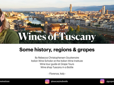 A free class on the Wines of Tuscany
