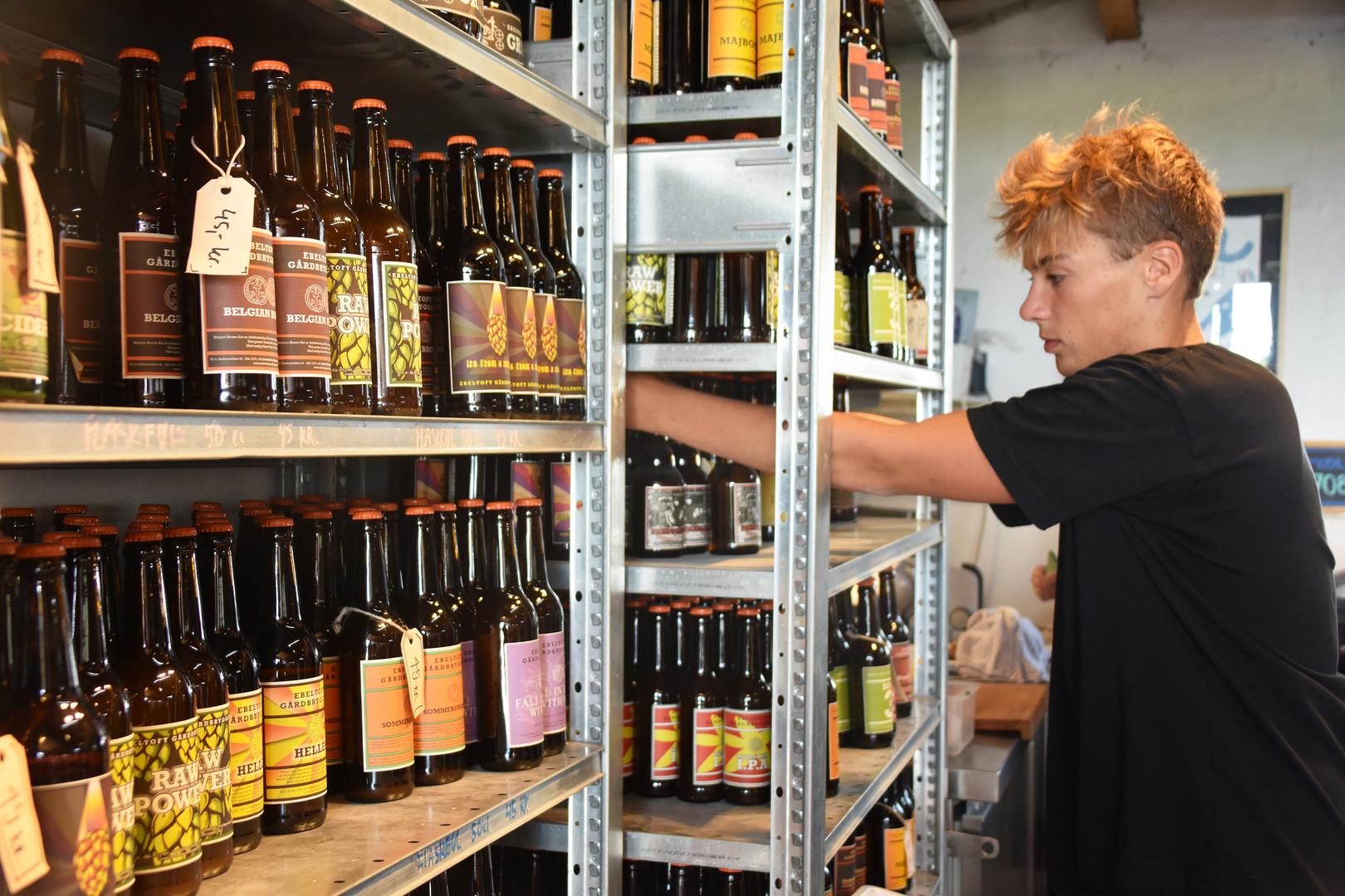 Ebeltoft Gaardbryggeri - local brewery in Djursland