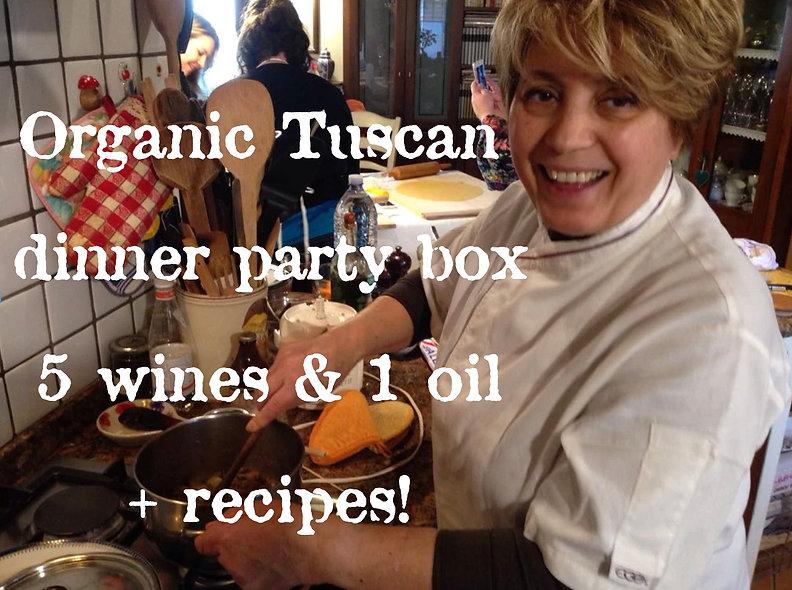 Organic Tuscan Dinner Party Box