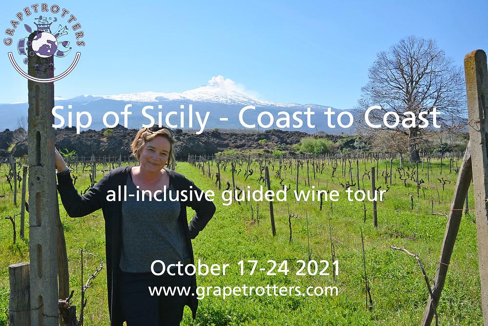 Grapetrotters Sicily wine tour