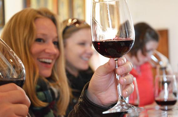 Cours de dégustation de vin