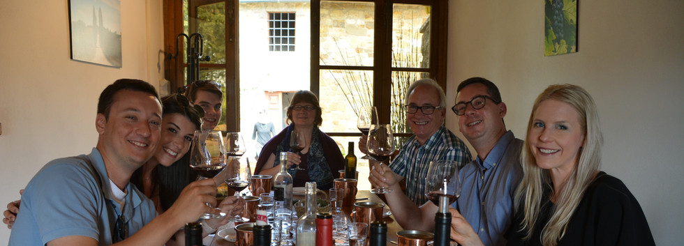 Our third winery tasting