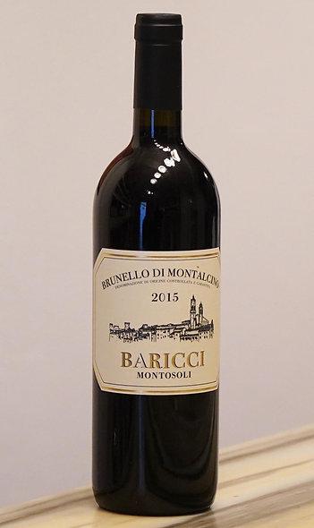 """Brunello di Montalcino """"Montosoli"""" 2015 DOCG, Baricci"""