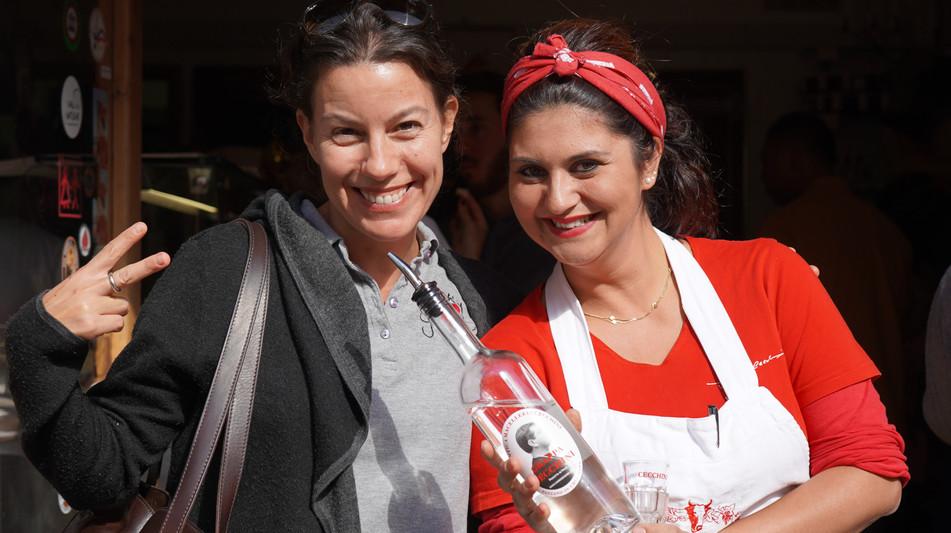Grape guide & Dario Cecchini's fantastic staff