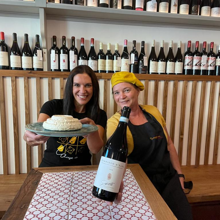Pearls of Piemonte: A guided tasting of 6 cheeses and 3 wines