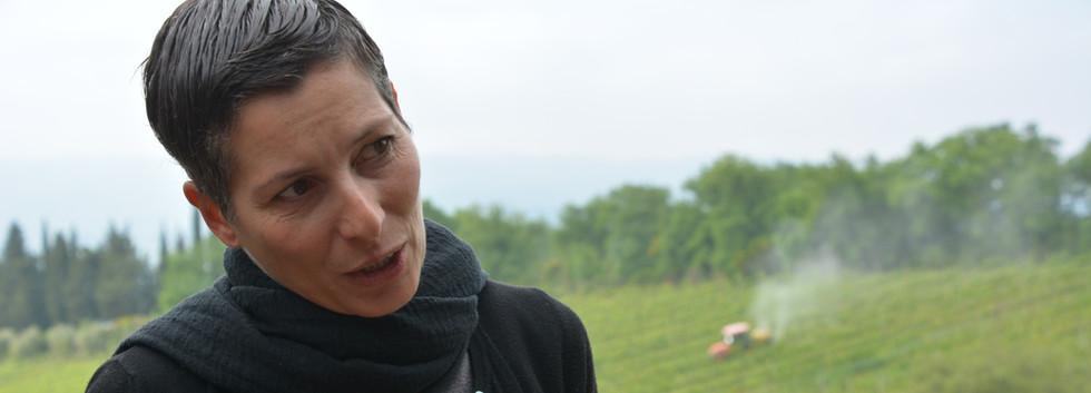 Barbara at the third winery