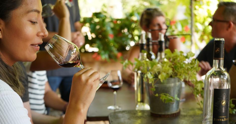 Tasting in Provence