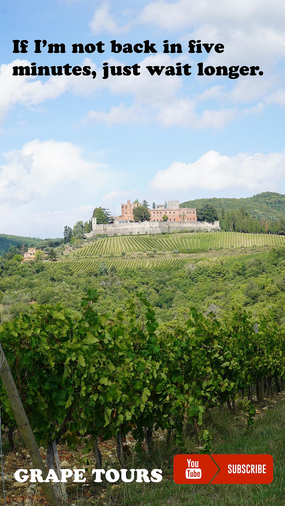 Castello di Brolio, Tuscany.