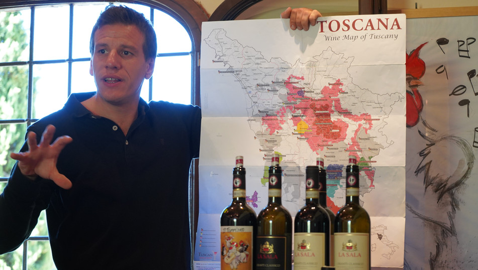 Learning about the Chianti Classico region