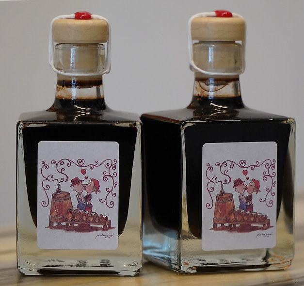 2 medium sized bottles of 12 yrs old Balsamic Vinegar of Modena 100 ml