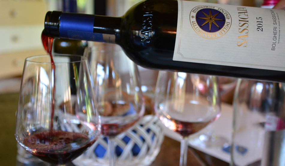 Tour Bolgheri and visit great wineries deliciuos lunch included