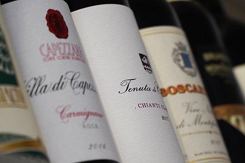Tuscan Wines Class 6-Pack Tasting Box