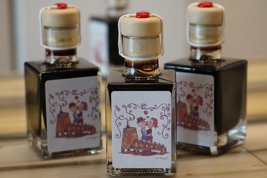 3 petites boteilles de 10 ans d'âge  Vinaigre balsamique de Modène 50 ml