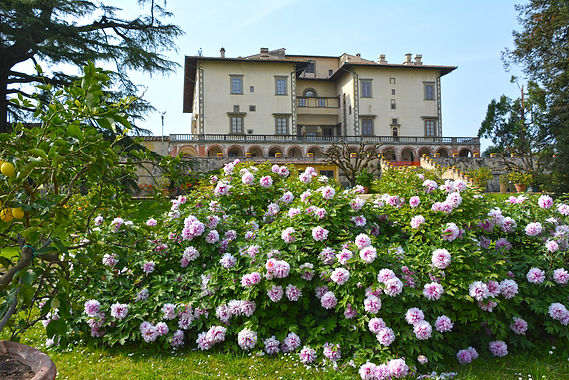 Villa Medici en Toscane