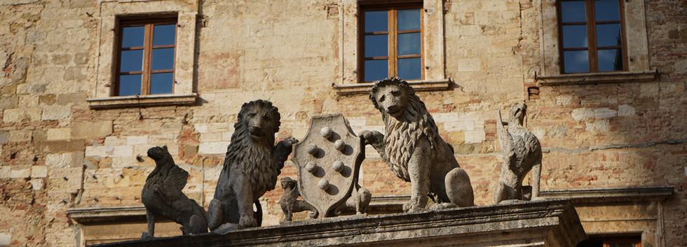 The Marzocco - symbol of Montepulciano