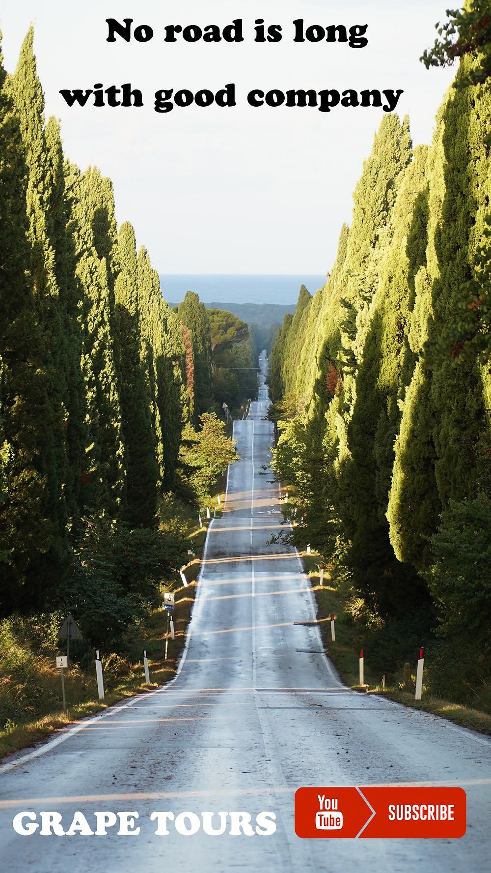 Viale dei Ciipressi, Bolgheri.