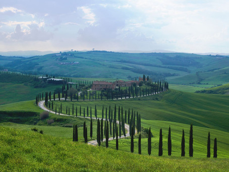The enchanting Val d'Orcia