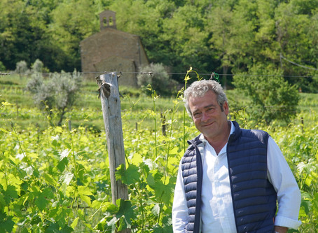 The soul of Il Marroneto with Alessandro Mori in Montalcino