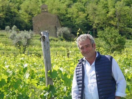The soul of Il Marroneto with Alessandro Mori in Montalcino