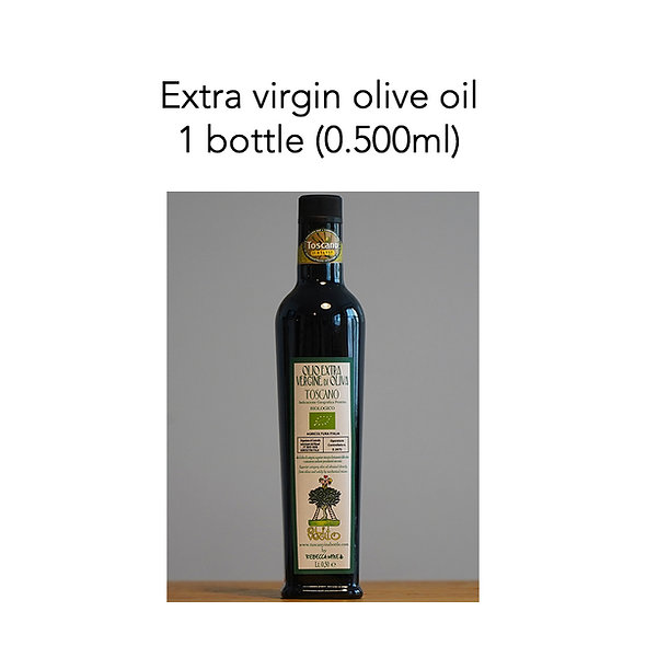 Extra Virgin Olive Oil IGP Toscana 2020 (organic certified)