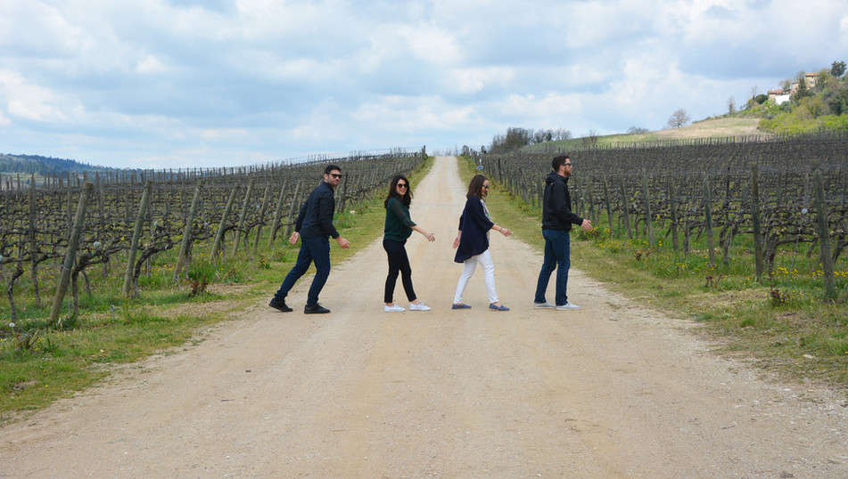 Half day wine tour - Abbey Road style