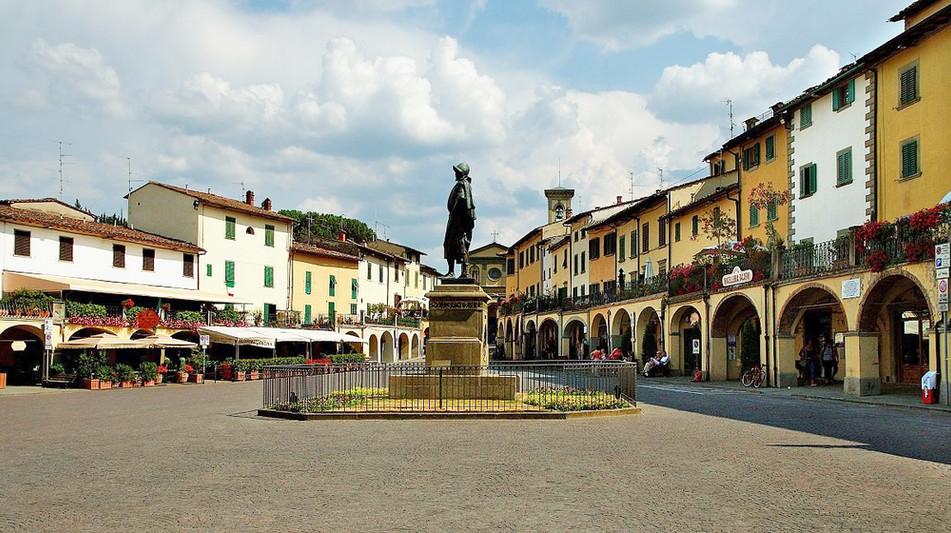 Stop in Greve in Chianti