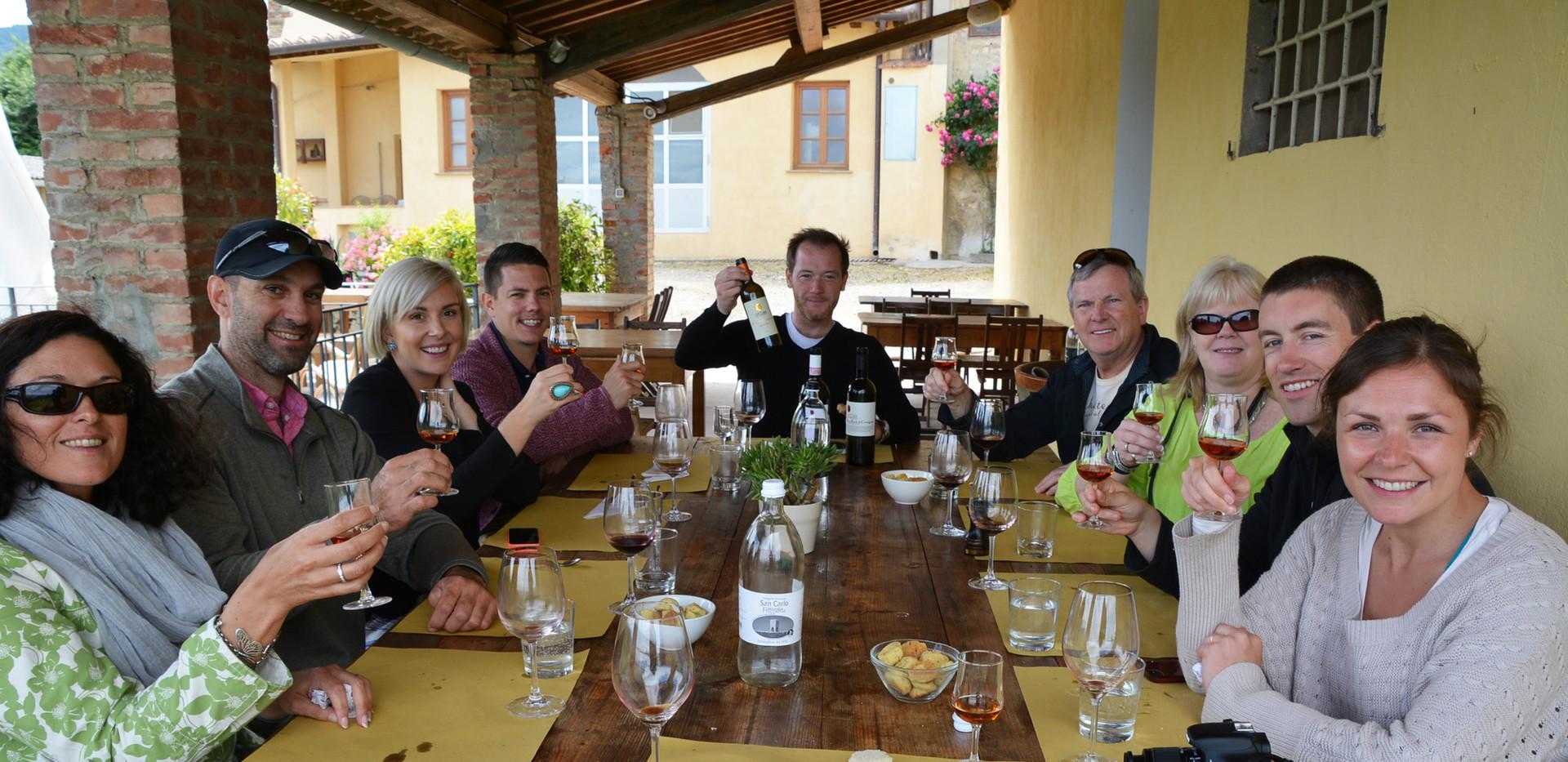Enjoy lunch al fresco (weather permitting)