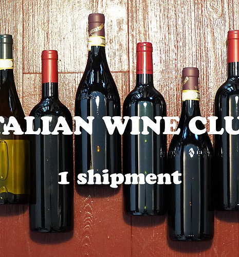 Italian Wine Club, 1 expédition