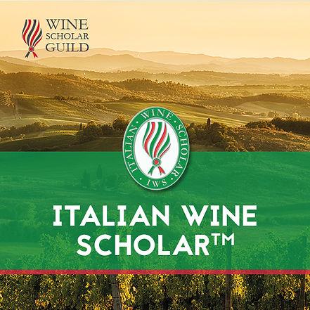 italian wine scholar