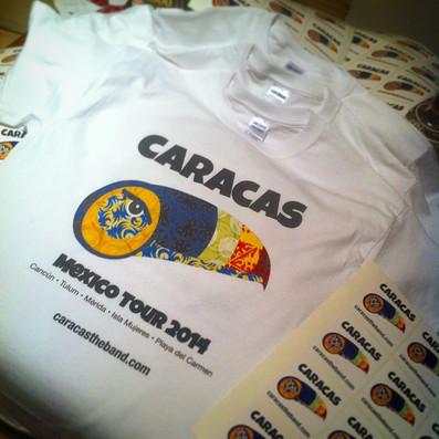 Mexico Tour t-shirts!