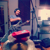 Jorge in the recording studio