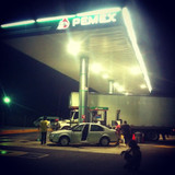 Pit stop on our way back to Cancun