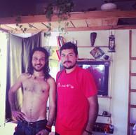 Jorge and David