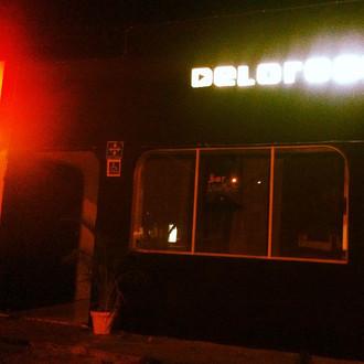Rocking the Delorean bar
