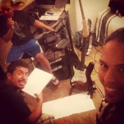 Rehearsal at Jorge's