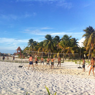 rocking out at Isla Mujeres