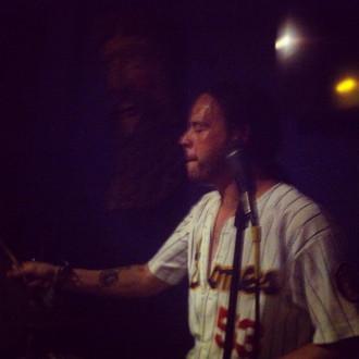 Javier drumming in Cancun