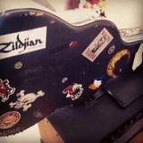 Old guitar case decommissioned