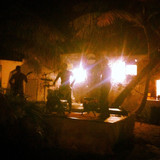 open air gig in Isla Mujeres