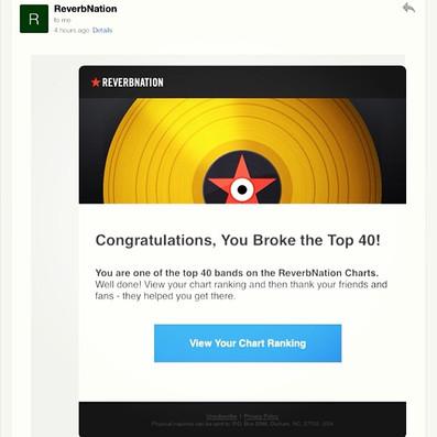 Breaking the top 40s online