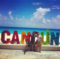 Mandatory Cancun photo