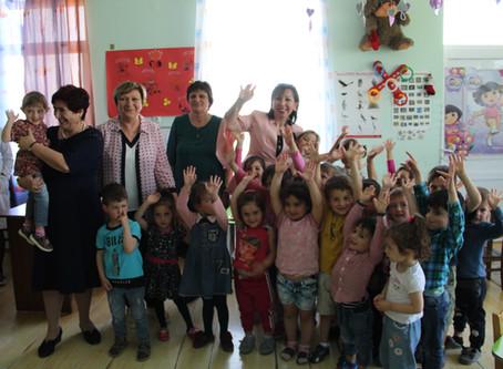 Small grant implementation in Nikozi Kindergarten