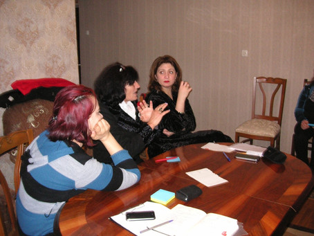 Meeting in Zeda Etsera