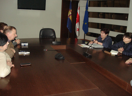 Meeting in Samegrelo