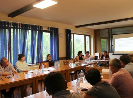 Meeting in Borjomi