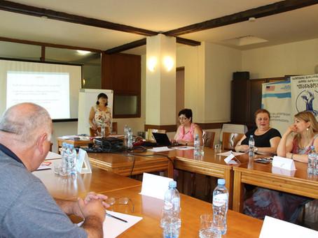 Training in Borjomi