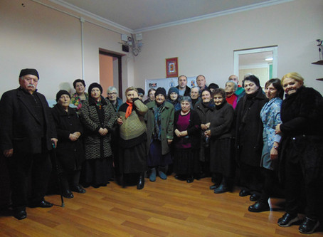 Event at Gori Day Center for Elderly