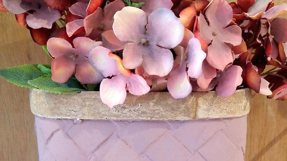 Vaso de parede lilas