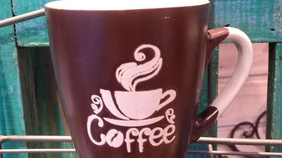 Caneca coffee marrom