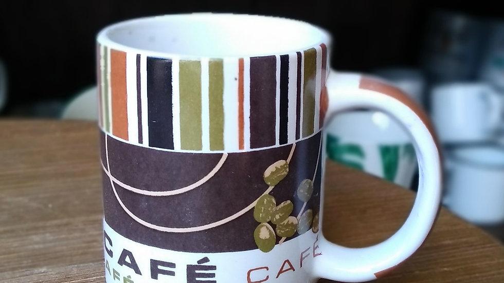 Caneca cafezinho sementes